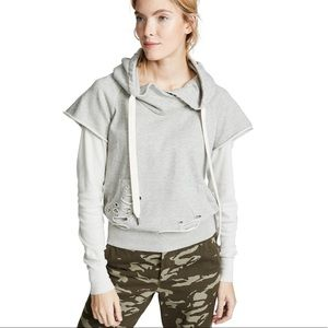 NSF Ray Distressed Layered Pullover